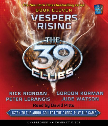 Vespers Rising (The 39 Clues, Book 11)  - Audio by Scholastic Audio Books