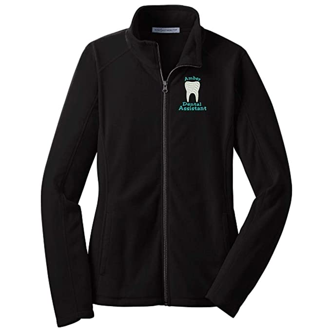 Stop N Shop Hours >> Why Not Stop N Shop Personalized Dental Assistant Full Zip Microfleece Jacket With Pockets