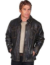 Men's Lamb Leather Jacket - 250 196