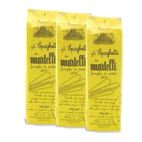 Martelli Spaghetti Nudeln, 3 x 1.000g - Sparpaket