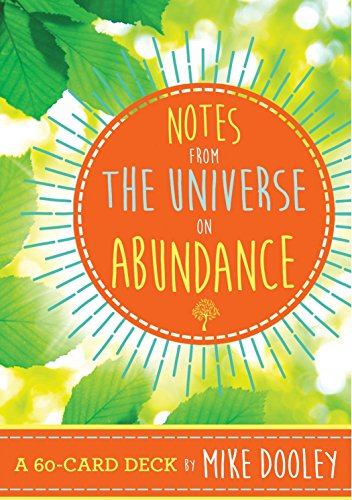 Notes from the Universe on Abundance: A 60-Card Deck Age Note Cards