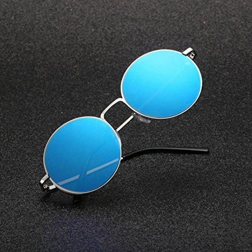 ... Femmes Lunettes de Hippie Homme Soleil Polarisées Modernes Lunettes G Cadre  Vintage Metalise UIxwqZCd be9d47663159