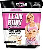 Jamie Eason Signature Series 100% Whey Protein Shake, Ideal All Natural Protein for Women with Zero Artificial Flavors, Colors or Sweeteners, Natural Vanilla, 2.6 Pound (Packaging may vary)