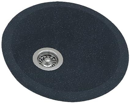Swanstone KSRB-18-015 18-1/2-Inch Diameter Round Bowl Kitchen Sink ...