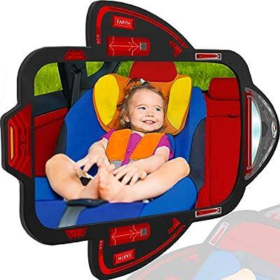 Amazon.com: Espejo de coche para bebés de Cozy Greens ...