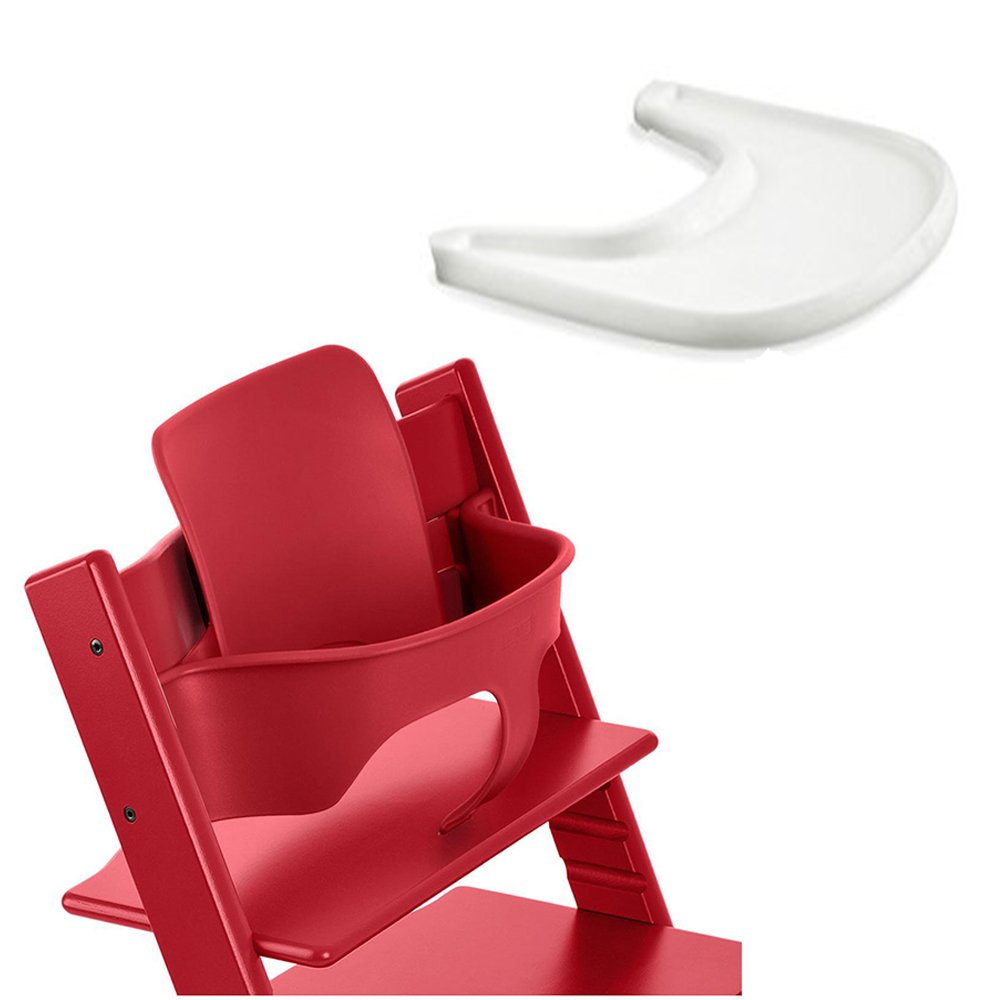 Amazon Stokke Tripp Trapp Chair Red Childrens