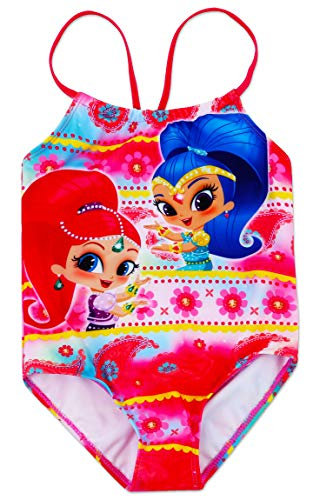 Dreamwave Girls' Shimmer and Shine One Piece Swimsuit 4 ()
