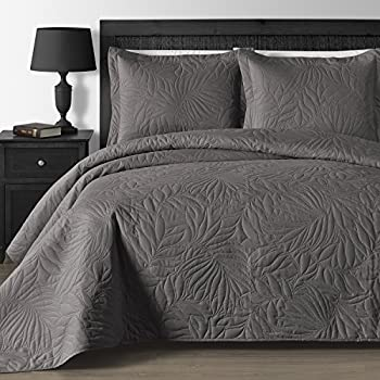 Amazon.com: Chezmoi Collection 3 Piece 118 by 106  Austin ... : oversized quilts and coverlets - Adamdwight.com