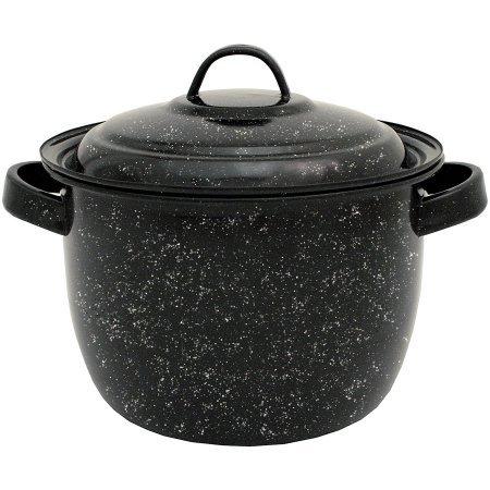 Granite Ware 4-quart Beanポット、ブラック B01IGU5IOI