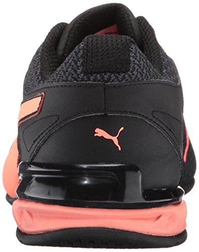 PUMA Frauen Tazon 6 Knit Wn Sneaker Puma Schwarz-roter Pfirsich