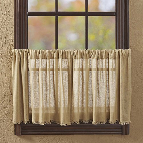 VHC Brands Boho & Eclectic Window Curtains - Mariposa White