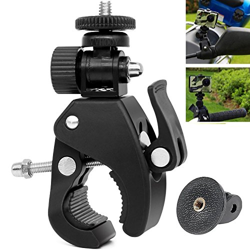 (VVHOOY Motorcycle/Bike/Rod Bar Handlebar Clamp Mount with 1/4