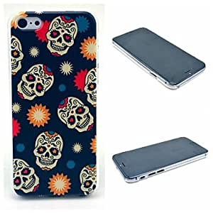 GJY Cool Skull Pattern Hard Case for iPhone 6 Plus