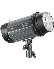 Neewer Flash Luz Estroboscópica Monolight 250W 5600K con Lámpara Modelado,Speedlite Profesional Aleación de Aluminio para Fotografía Estudio de Ubicación Interior y Fotografía Retrato(N-250W)