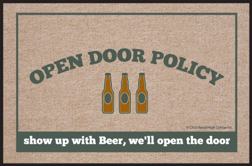 r Policy Beer Doormat (Beer Mats)