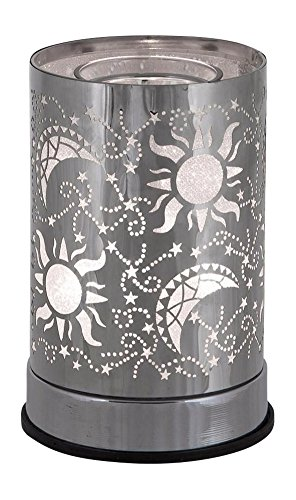 l&v New Electric Touch Fragrance Aromatherapy Oil Lamp Warmer Diffuser Celestial