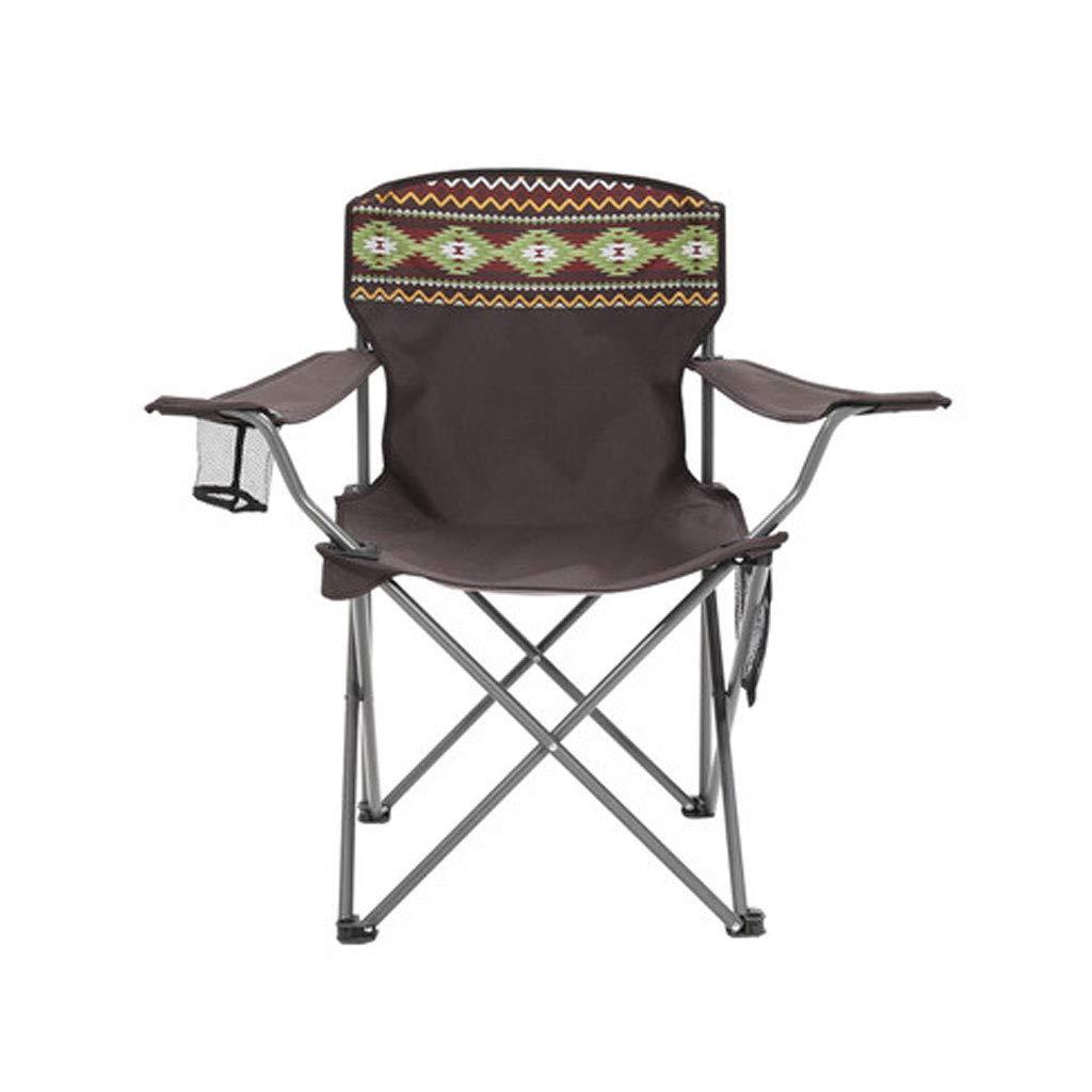 BFQY FH Outdoor-Klappstuhl, Tragbarer Mini-Fischen-Strandstuhl, Einfaches Segeltuch, Oxford-Tuchdirektor-Stuhl 40 × 40 × 75cm