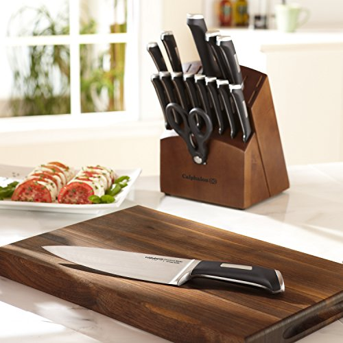 Calphalon 1834745 Precision Series 16-Piece Cutlery Set with Wood Knife Block by Calphalon (Image #10)