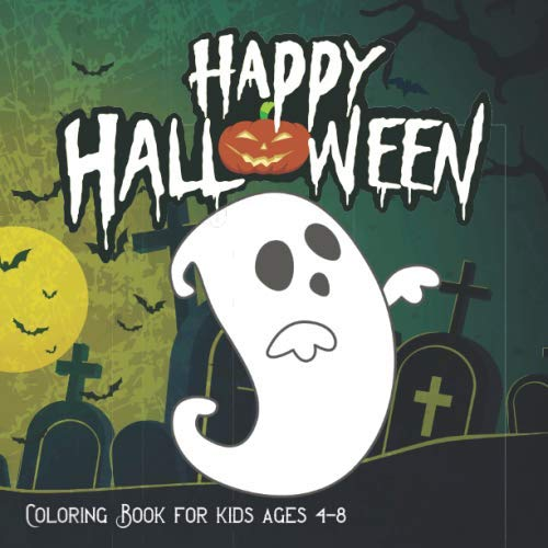 Peanuts Coloring Pages (Halloween Coloring Books for kids ages 4-8: A Spooky Coloring Book For Creative Children pumpkins design (halloween coloring pages for)