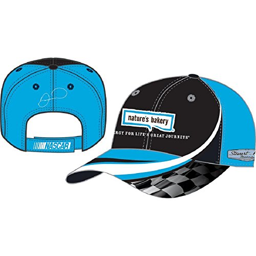 Nascar Adult Drivers Salute Racing Hat   Cap Danica Patrick  10 Natures Bakery Teal Black