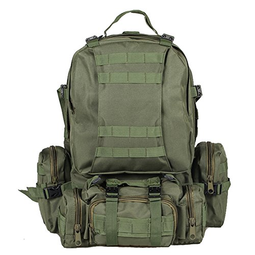 30L Army Tactical Combat Backpack Outdoor Trekking Army Backpack - 5