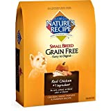 Nature's Recipe Small Breed Grain Free Easy to Dig...