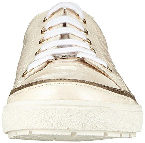 Blanco Zapatos para Napl Mujer Caprice 23654 Cordones Cream de Mud Derby 150 50FxxOZwq