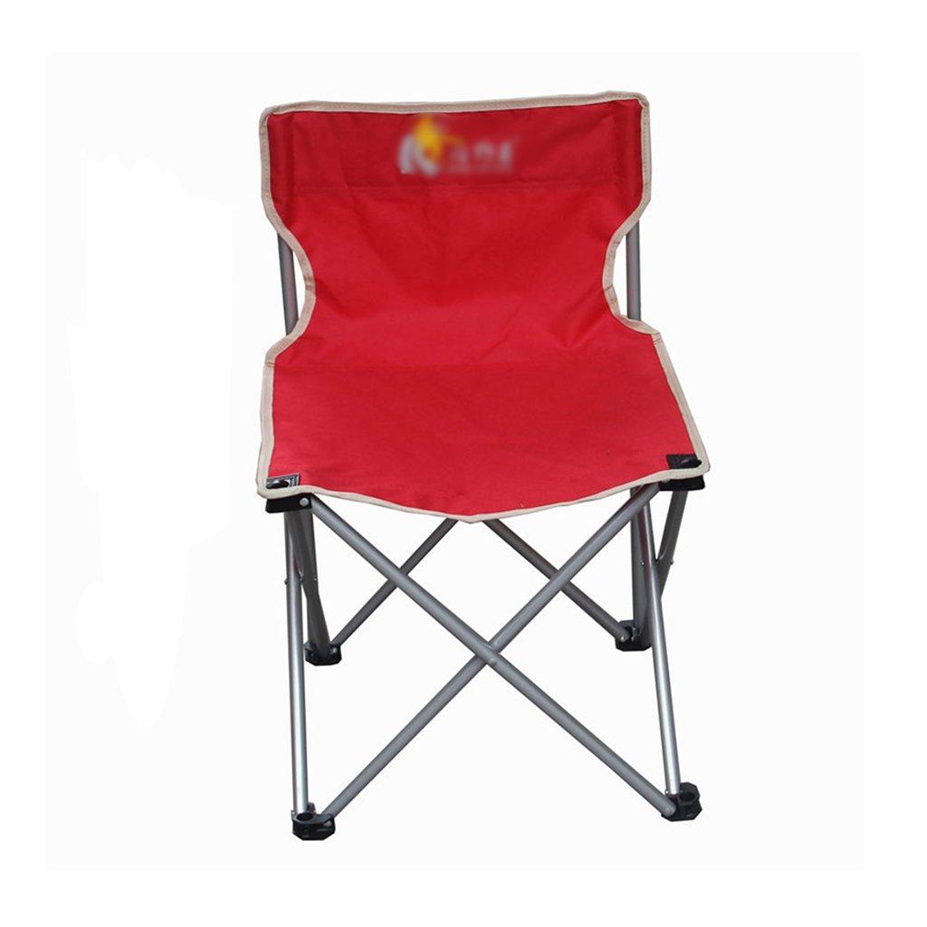 ZGL 旅行椅子 屋外折りたたみチェアポータブルビーチカジュアルチェア折りたたみ釣り用スツール背もたれ椅子屋外椅子の色オプション ( 色 : 赤 , サイズ さいず : Pack of 3 ) B07C7DSLTK Pack of 3|赤 赤 Pack of 3