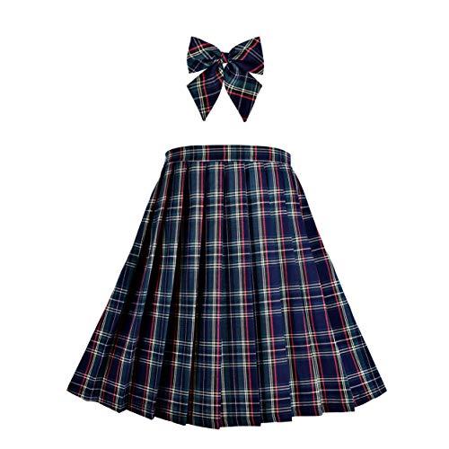 Meisjes Rok Back School Uniform Rood Tartan Rok 6-14 jaren