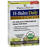 Forces of Nature Organic H-Balm Daily Control - 11 ml - 95%+ Organic - Homeopathic - For Daily Use to help Suppress Herpes Cold Sores