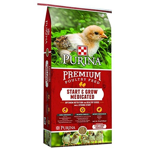Purina Feed Pmi Chick Start & Grow Optimum Nutrition Complete Poultry Food 25Lbs
