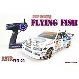 Voiture téléguidée RC NCC® HSP 94123t1Drift Car Flying Fish–Blanc