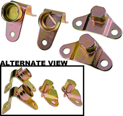 - APDTY 49753 Tailgate Hinge Set Of 4 Rear Left & Right Bed & Gate Side Hinges Fits 1999-2006 Silverado Sierra Pickup 2005-2006 Hummer H2 2006 H1 (Replaces 15074252 15074253 15078745 15078746)