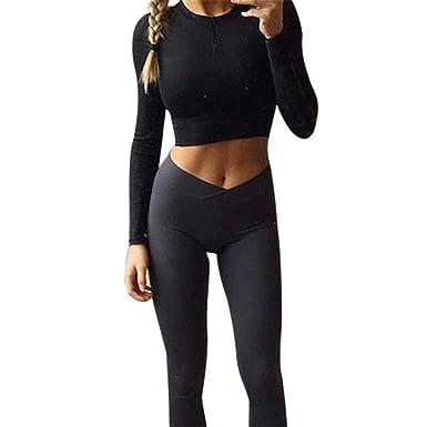 8c171d6fb460 Inverlee Women Hight Waist Yoga Fitness Leggings Running Gym Stretch Sports  Pants Trouser