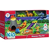 Bright Vivid Easy Grasp For Little Hands 21-Piece Dinosaur Play Set