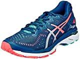 Asics Women's Gel-Kayano 23 Cockatoo, Safety Yellow and Lapis Running Shoes -6.5 UK/India (40 EU)(8.5 US)