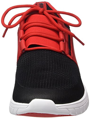 Rot Supra Uomo Black Flow white Red Sneaker Run RqBvI