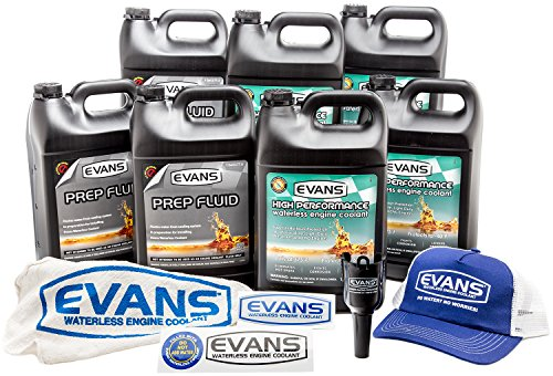 Evans Waterless Coolant Small Block Chevy Engine Full Conversion Bundle by EVANS