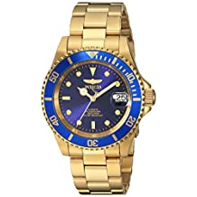 Invicta Men's 8930OB Pro Diver Analog Display Japanese Automatic Gold Watch