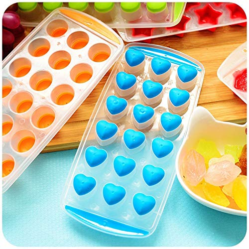 Idea Hoher Rund: 7 Arten Kugelwürfel, Gefrierbar, Pudding, Mund