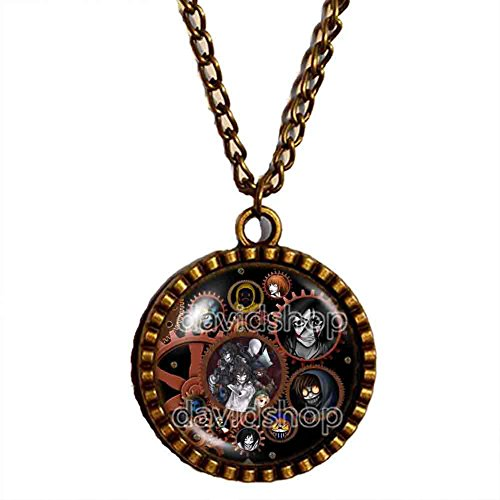 Handmade Design By ShiCong Chain Fashion Jewelry Creepypasta