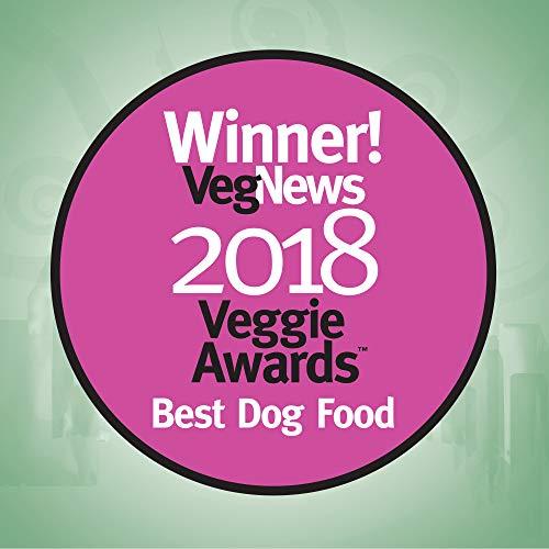 Halo Vegan Grain Free Natural Crunchy Dog Treats, Garden of Vegan Peanut N' Pumpkin Recipe, 8-Ounce Bag