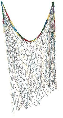 Tie-dye Fish Net. Multi-color. 4 Ft. X 14 Ft. (Hang Net)