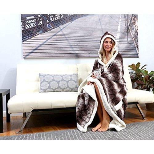 Chic Home Shady Snuggle Hoodie Blanket 51