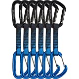 Black Diamond PosiWire Quickpack - 6-Pack Black/Blue, 12cm