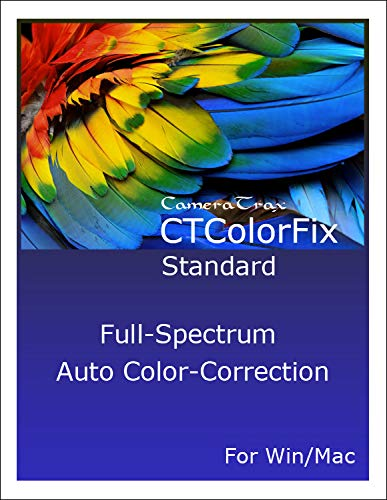 CTColorFix (Standard) Auto Color Correction for Win/Mac