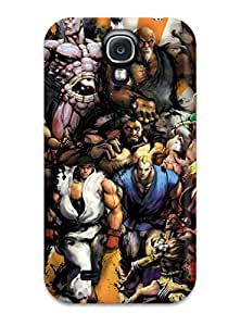4577531K33259164 Hot Tpu Cover Case For Galaxy/ S4 Case Cover Skin - Street Fighter