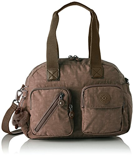 Up Beige Beige Defea Kipling Women's Kipling Satchel True Women's YIwRq