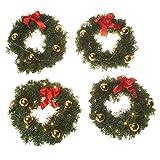 Best Miles Kimball Christmas Lights - Mini Lit Wreath Set Review