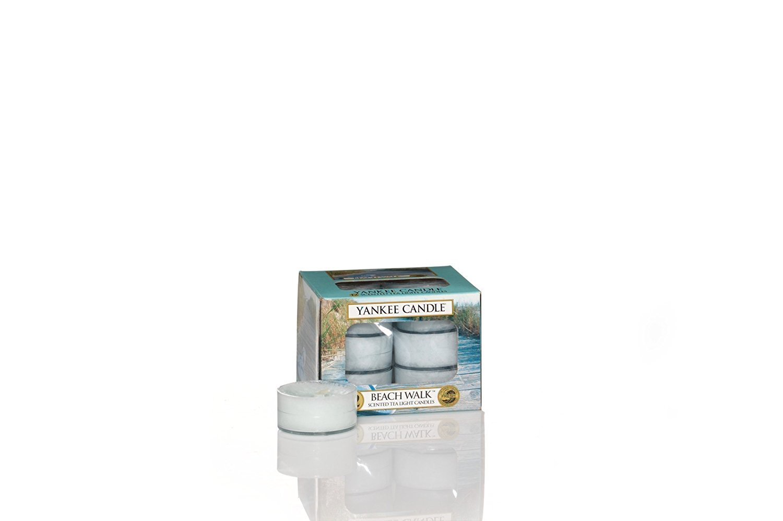 YANKEE CANDLE, Beach WalkScented Tea Lights - Set of 12
